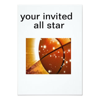 basketball1, your invited , all star card