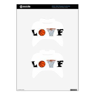 Basketball2 Xbox 360 Controller Decal