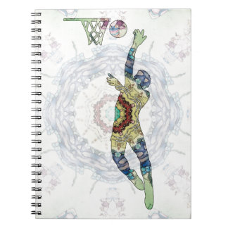 Basketball 01 spiral note books