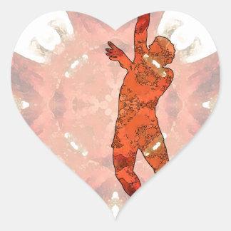 Basketball 03.jpg heart sticker