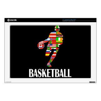 """Basketball 17"""" Laptop Skins"""
