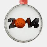 Basketball 2014 ornament