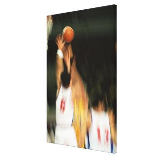 Basketball 2 canvas print