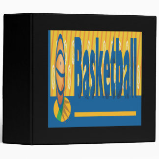 Basketball 3 Ring Binder