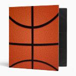Basketball 3 Ring Binders