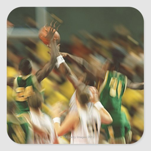 Basketball 3 stickers
