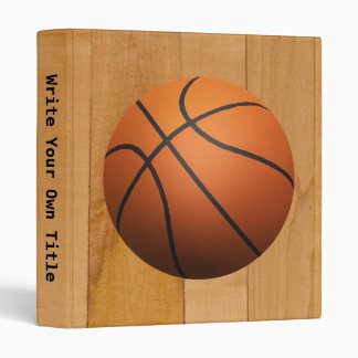 Basketball 3D Effect Binder