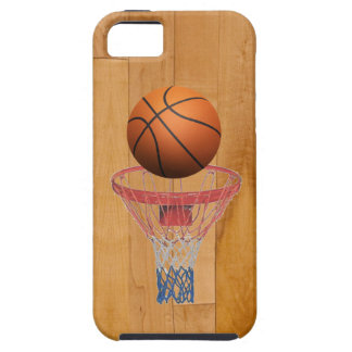 Basketball - 3D Effect iPhone 5 Cover