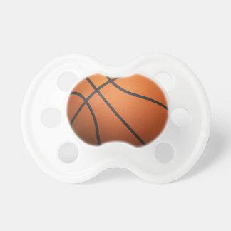Basketball - 3D Effect Pacifier