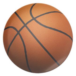 Basketball - 3D Effect Plate