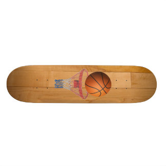 Basketball - 3D Effect Skateboard Deck