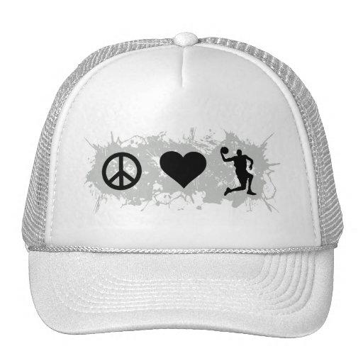 Basketball 4 trucker hat