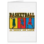Basketball A Way of Life Greeting Card