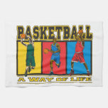 Basketball A Way of Life Towels