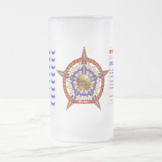 Basketball ADD Your Name Change Text View My Notes Frosted Glass Beer Mug