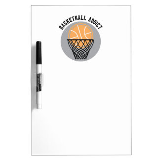 Basketball Addict Dry-Erase Board