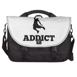 Basketball Addict Laptop Bag