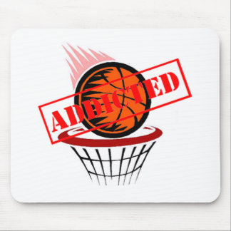 Basketball Addict Mouse Pad