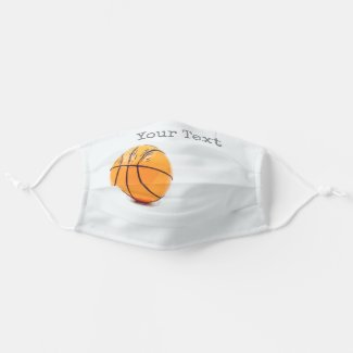 Basketball Adult Cloth Face Mask