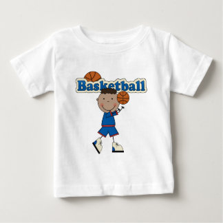 Basketball, African American Boy T Shirts