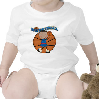 BASKETBALL African American Boy Tshirts and Gifts