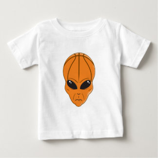 basketball alien head baby T-Shirt