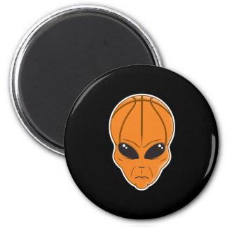 basketball alien head fridge magnets