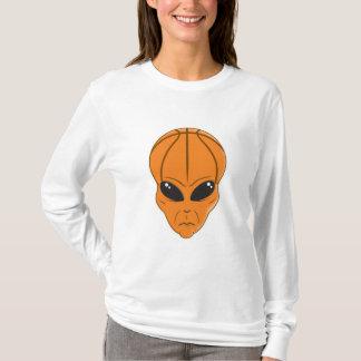 basketball alien head T-Shirt