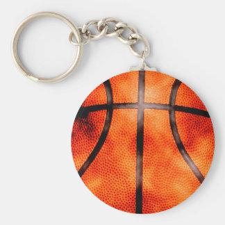 Basketball All Day Grunge Style Basic Round Button Keychain