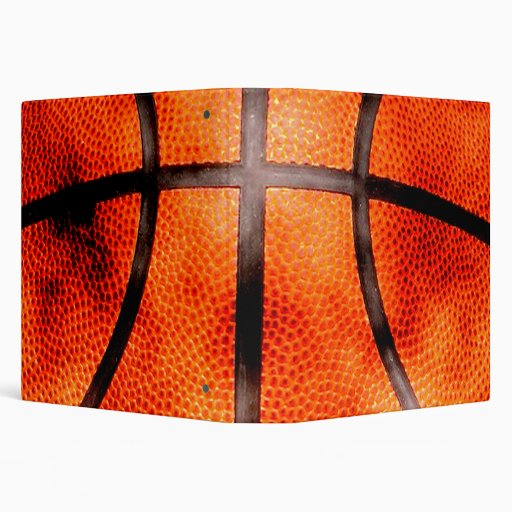 Basketball All Day Grunge Style Binder