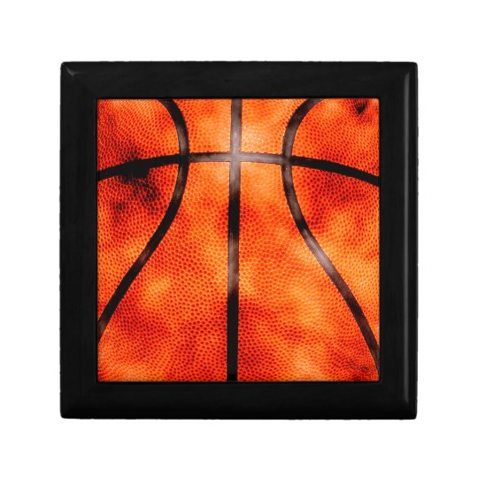 Basketball All Day Grunge Style Keepsake Box