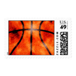 Basketball All Day Grunge Style Stamps