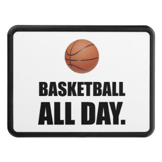 Basketball All Day Trailer Hitch Cover