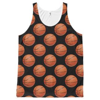 Basketball All-Over Print Tank Top