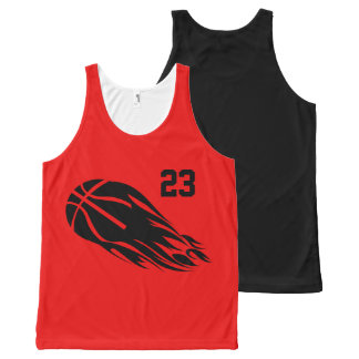 Basketball All-Over Printed Unisex Tank All-Over Print Tank Top