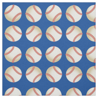 Basketball All Star Royal Blue Sport Theme Fabric