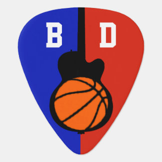 basketball-and-guitar ball personalized guitar pick