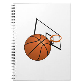 Basketball and Hoop Note Book