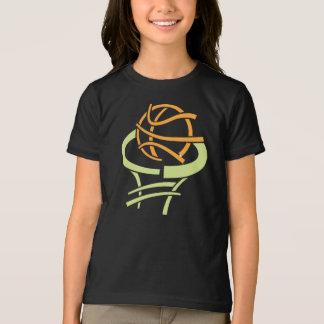 Basketball And Net Girls T-Shirt