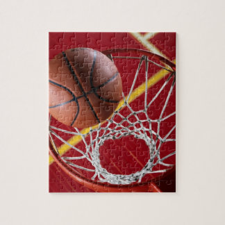 Basketball and Net Photo Puzzle