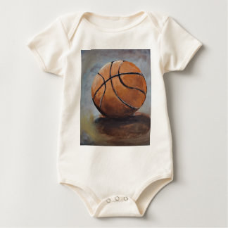 Basketball anyone? baby bodysuit