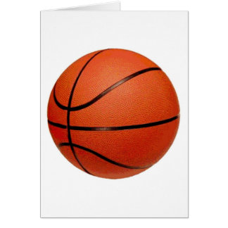 Basketball Art Card