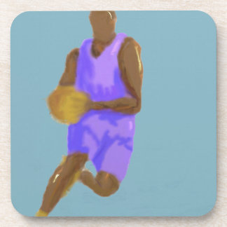 Basketball Art Coaster