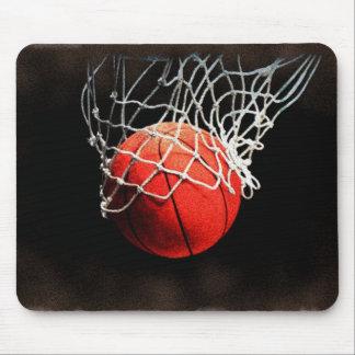 Basketball Art Mouse Pad