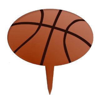 Basketball Artwork Cake Topper