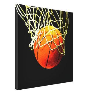 Basketball Artwork Canvas Print