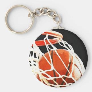 Basketball Artwork Keychain