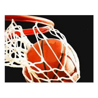 Basketball Artwork Postcard