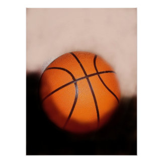 Basketball Artwork Poster