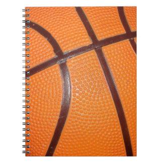 Basketball Artwork Spiral Notebook